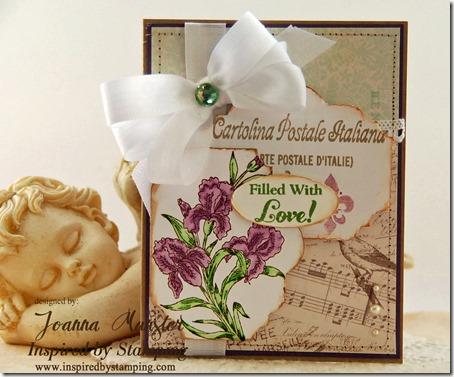 Inspired by Stamping Beautiful Iris 2