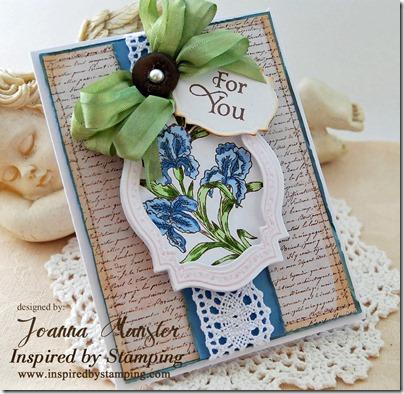 Inspired by Stamping Beautiful Iris 3