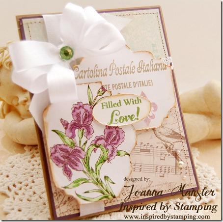 Inspired by Stamping Beautiful Iris