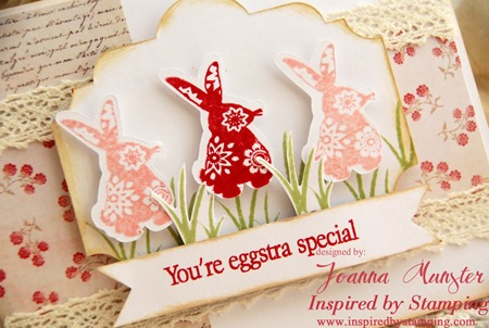 Inspired by Stamping Easter Labels 1