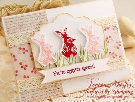 Inspired by Stamping Easter Labels - Joanna Munster