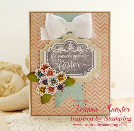 Inspired by Stamping - Easter Labels
