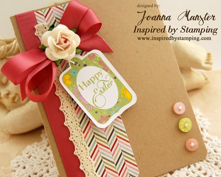 Joanna Munster - Inspired by Stamping - Easter Labels