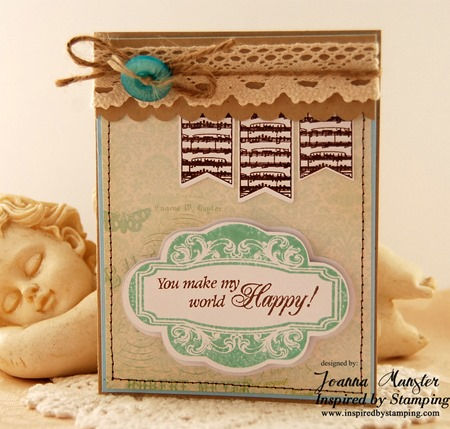 Inspired by Stamping Fancy Sentiments, Single Fancy Frame, Whimsical Banners