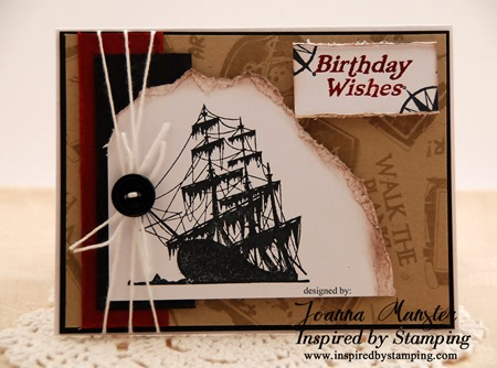 Inspired by Stamping Pirates & Ahoy Matey 1