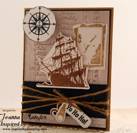 Inspired by Stamping Pirates & Ahoy Matey