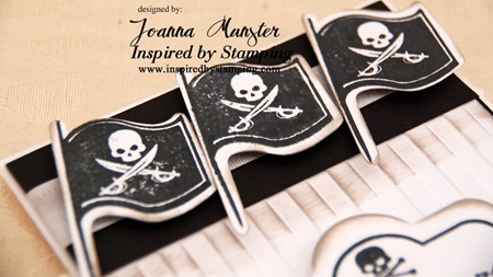 Inspired by Stamping Pirates - Joanna Munster