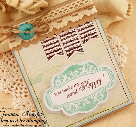 Inspired by Stamping Single Fancy Frame and Whimsical Banners