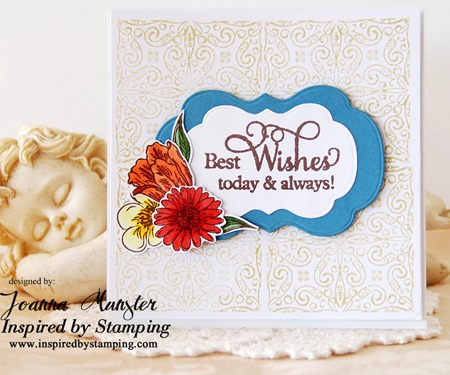 Inspired by Stamping Spring Blossoms Joanna Munster