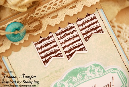 Inspired by Stamping Whimsical Banners