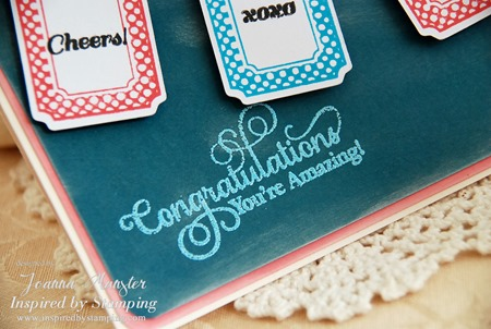 Inspired by Stamping Creative Tags and Big Notes II