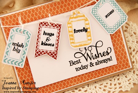 Inspired by Stamping Creative Tags and Big Wishes II