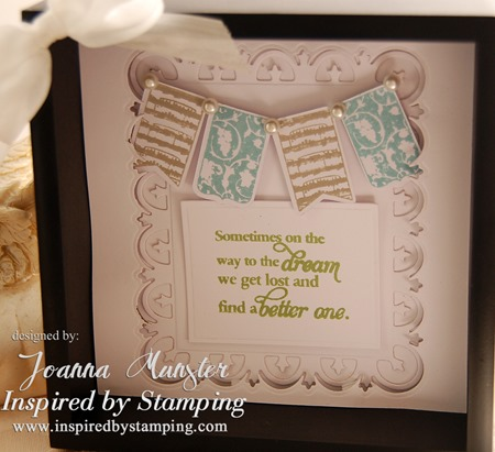 Inspired by Stamping Whimsical Banners and Words of Inspiration