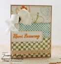 Inspired by Stamping Big Notes in French, Summer Flowers, French Country Backgrounds