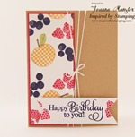 Inspired by Stamping Big Wishes II and Mason Jars Summer Add On