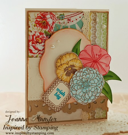 Inspired by Stamping Creative Tags and Summer Flowers
