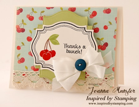 Inspired by Stamping Fancy Labels 18 and Mason Jars Summer Add On