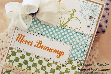 Inspired by Stamping French Country Backgrounds III