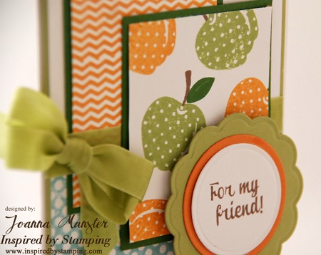 Inspired by Stamping Mason Jars Summer Add On - Joanna Munster