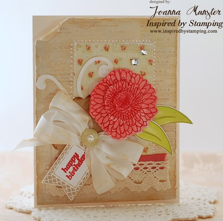 Inspired by Stamping Summer Flowers and Creative Tags