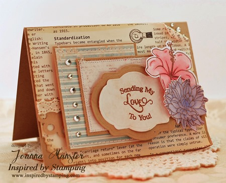 Inspired by Stamping Summer Flowers, Trency Circle Sentiments, Fancy Labels 2 Die