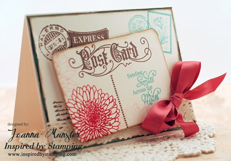 Inspired by Stamping Summer Flowers