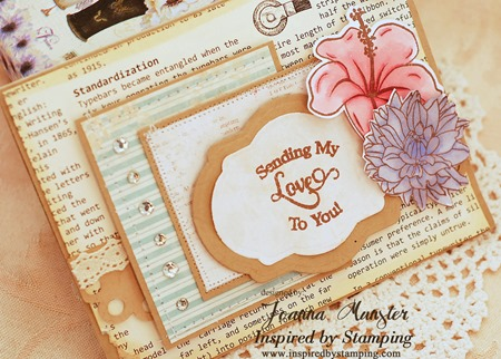 Inspired by Stamping Trency Circle Sentiments