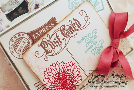 Inspired by Stamping Trendy Circle Sentiments
