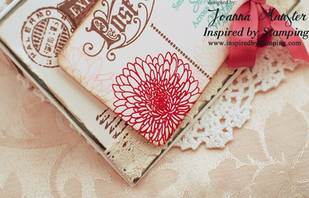 Inspired by Stamping Vintage Postcards and Summer Flowers