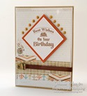Inspired by Stamping Background Basics IV - masculine card - Joanna