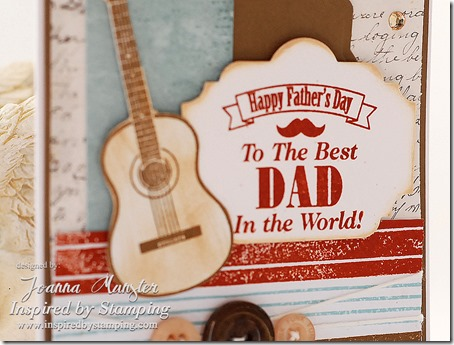 Inspired by Stamping Background Basics Line Stamp Set - Masculine Card