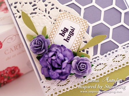 Inspired by Stamping Creative Tags and Flowers Card