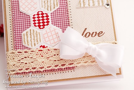 Inspired by Stamping Crochet Trim and Shabb Chic Card