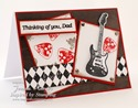 Inspired by Stamping Guitars, French Country & Masculine Tags II Stamp Set - Masculine Tags