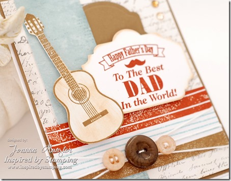 Inspired by Stamping Guitars Stamp Set