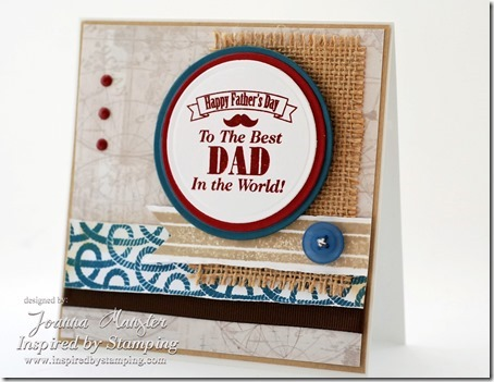 Inspired by Stamping Guy Sentiments - Background Basics IV & Lines Stamp Sets _ masculine card_thumb[1]