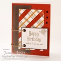 Inspired by Stamping Guy Sentiments Stamp Set - Masculine Card - Joanna