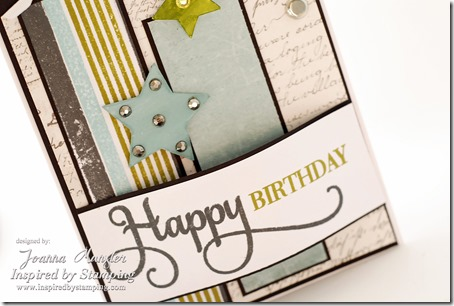 Inspired by Stamping Happy Occasions Stamp Set