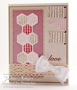 Inspired by Stamping Hexagons, Arrows and Whimiscal Banners Stamp Sets