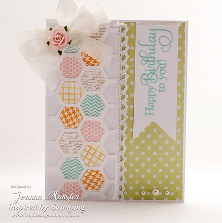 Inspired by Stamping Hexagons, Big Wishes II Stamp Sets