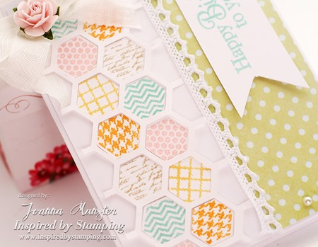 Inspired by Stamping Hexagons Card