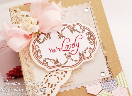 Inspired by Stamping Vintage - Fancy Labels 2 Card